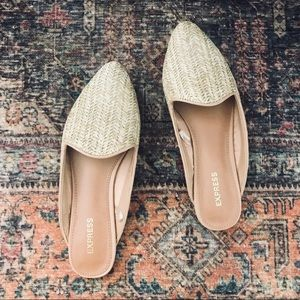 EXPRESS Woven Slide Loafers ✨NWOT✨